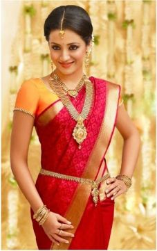South Indian Traditional Saree