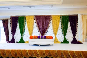 Sangeet Stage Indian Wedding
