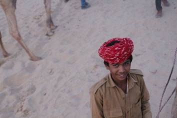 Youngest camel driver