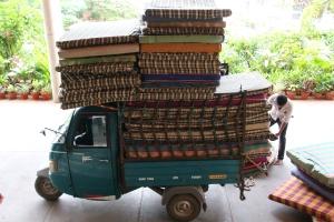 truck rickshaw
