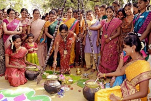Pongee Festival in South India