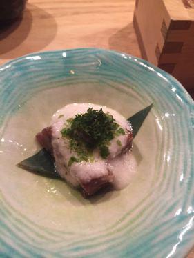 Grated Yam & Marinated Tuna