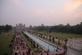 view from the Taj Mahal